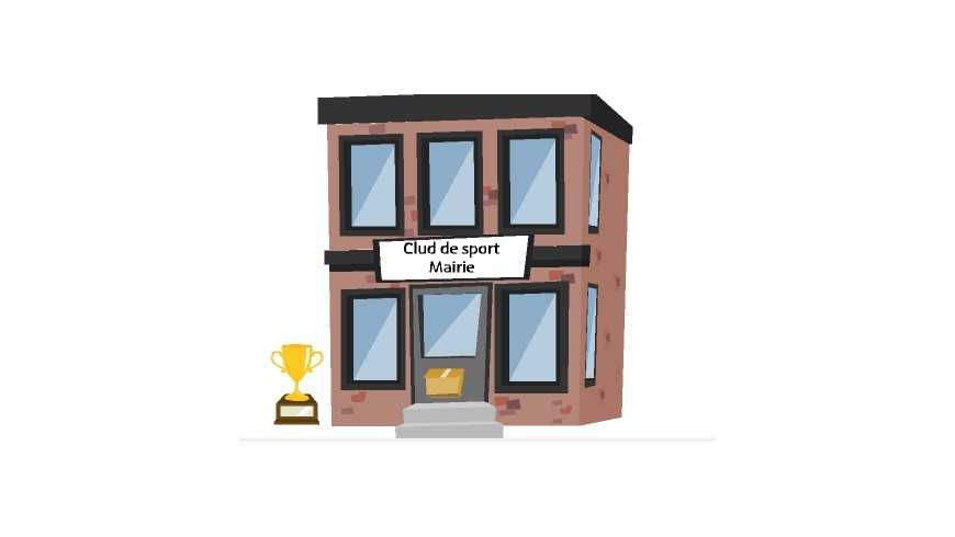 Illustration Mairie club de sport